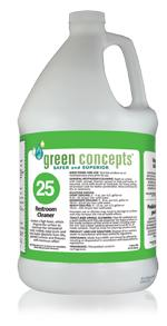 green concepts restroom tile grout cleaner